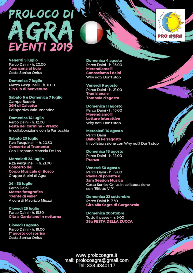 Calendario It.Proloco Agra Va Calendario Manifestazioni